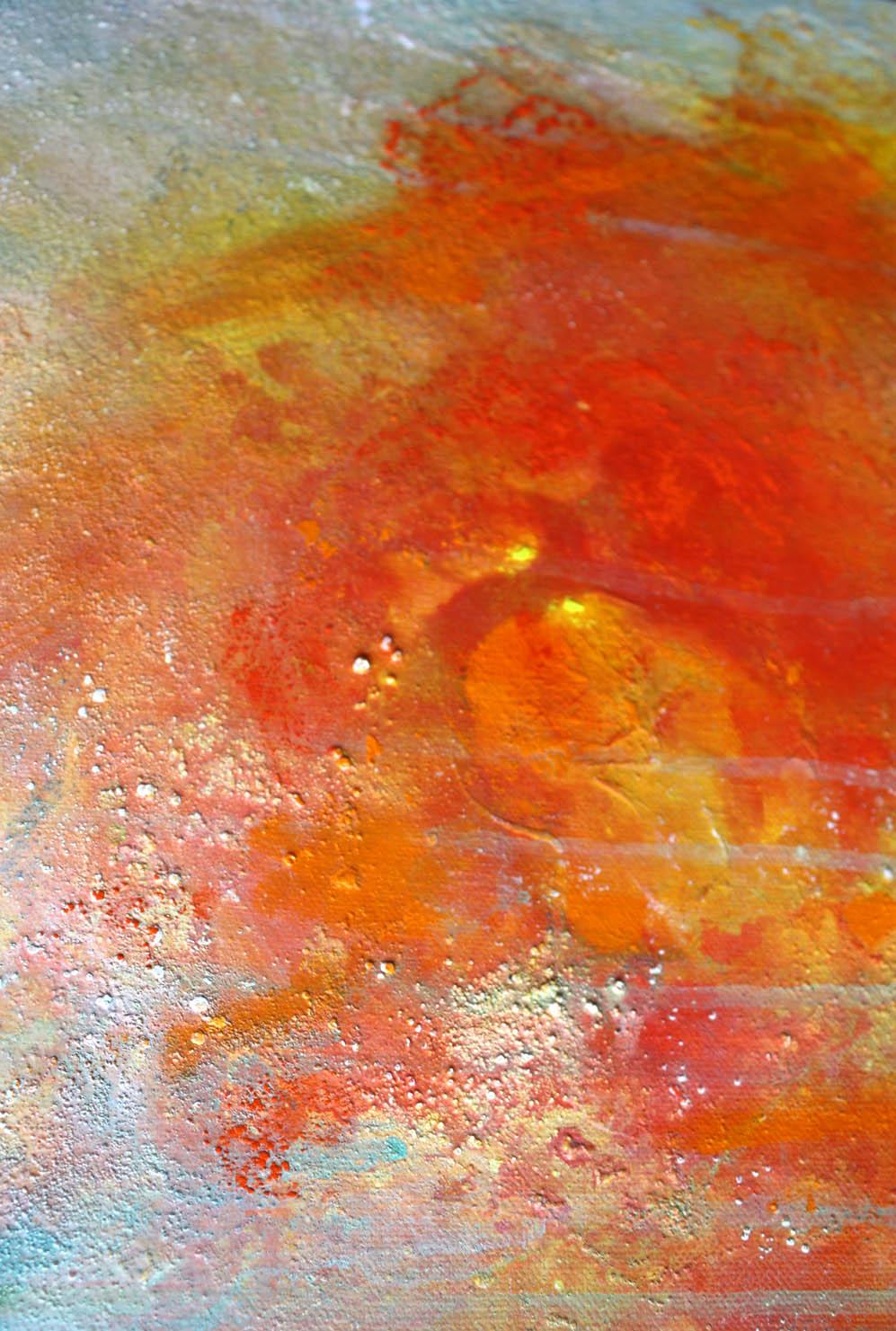 Stage et cours de peinture réalisés par Lucie LLONG, artiste peintre professionnelle à Champeix (Auvergne Rhône Alpes - Puy de Dôme - 63) sur les techniques mixtes