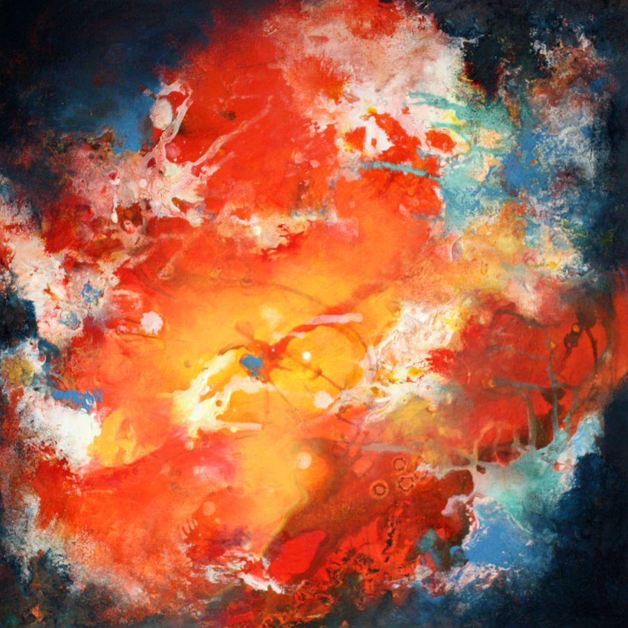 art stage de peinture technique mixte matière encre et pigment champeix issoire clermont ferrand auvergne