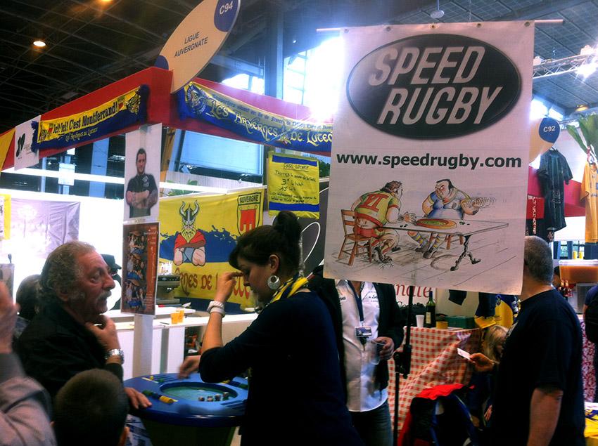 les arvernes de Lutèce paris rugby show