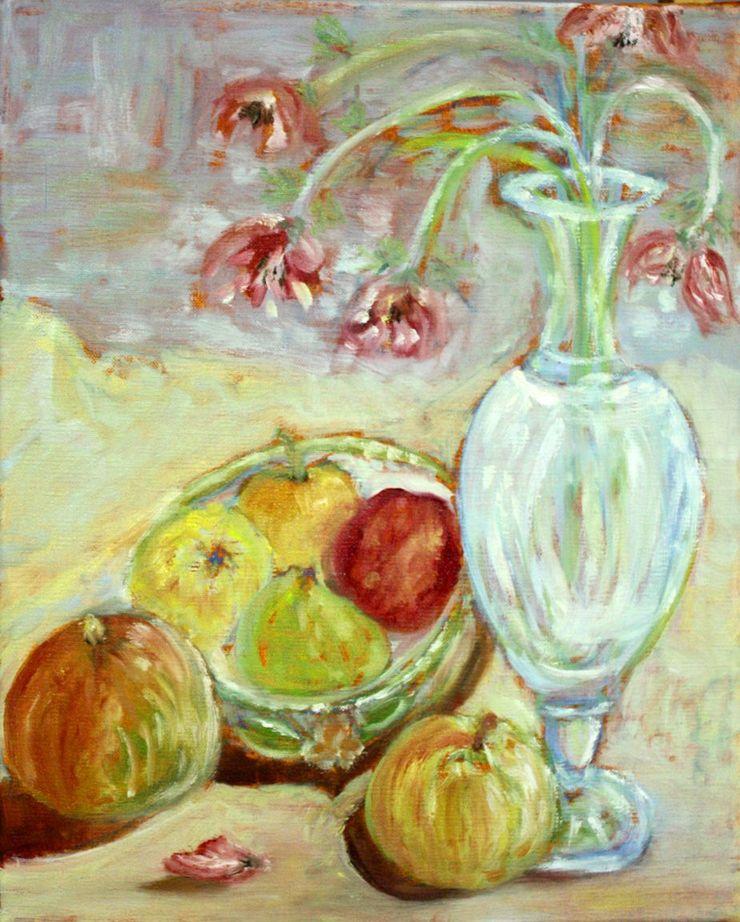 stage de peinture à l'huile - la nature morte - Champeix - Puy-de-Dôme - Auvergne - animé par Lucie LLONG -les tableaux