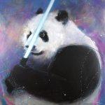 art_peinture_starwars_popart_animaux_pandawan_lucie_llong_artiste_peintre