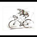 art_peinture_tableau_sport-lavis-encre_cyclisme_joop_zoetemelk