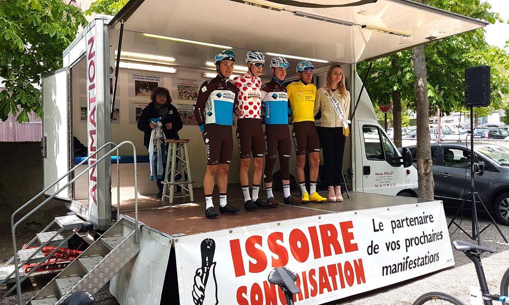 Cyclisme : présentation des équipes à Champeix