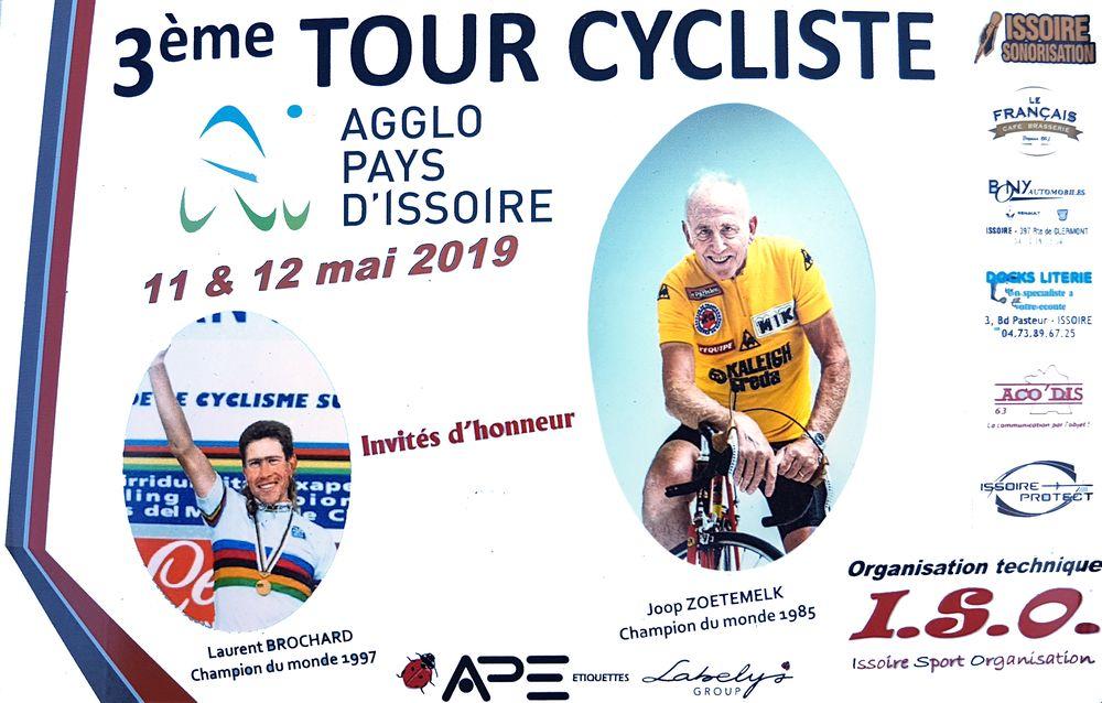 Cyclisme : l'affiche du tour API 2019