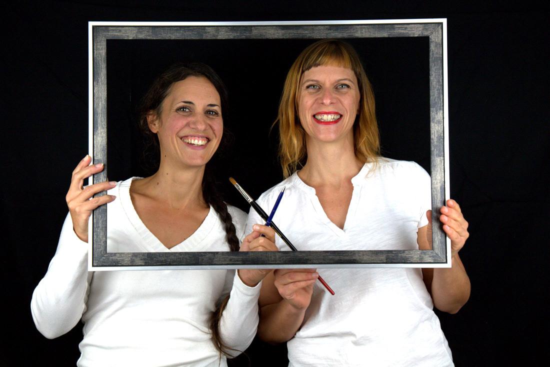 Julie Baudin et Lucie Lllong : auteur et illustratrice du livre pour enfant Capitaine sirry sissous et la brigade des dents